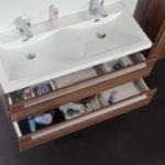 Vasque double salle de bain