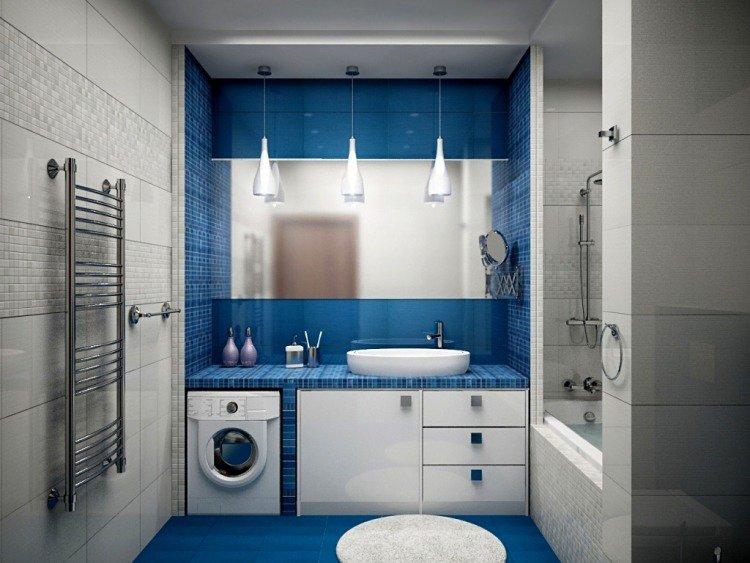 deco salle de bain zen bleu