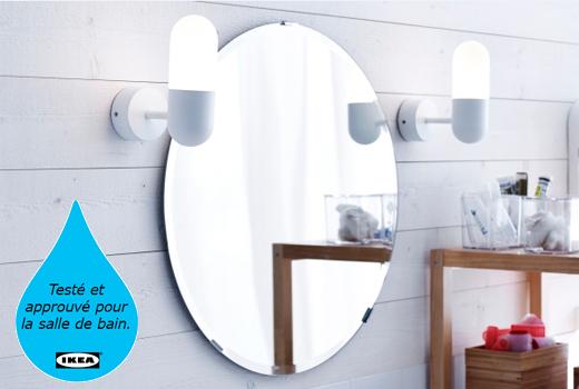 Ikea neon salle de bain for Salle de bain ikea 2016