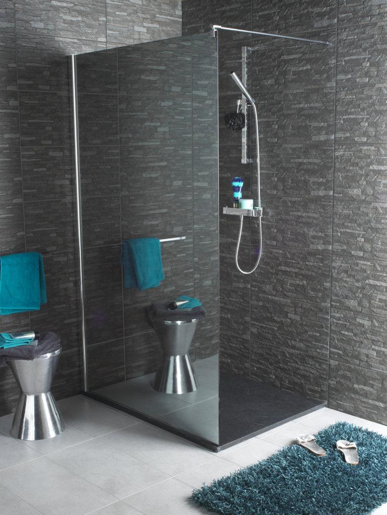 Lapeyre salle de bains douche italienne - Modele salle de bain douche italienne ...