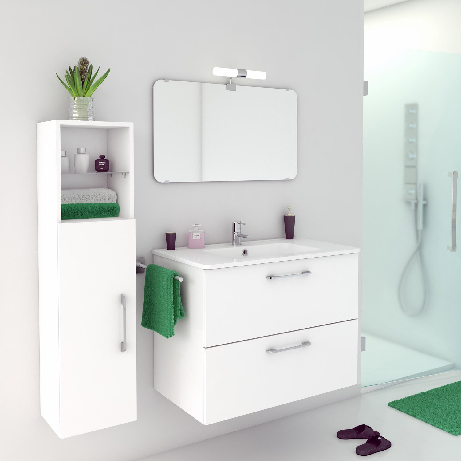 Leroy merlin 3d dressing for Salle de bain sol 3d