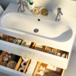 Meuble salle de bain faible profondeur ikea