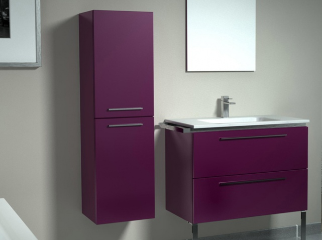 colonne de rangement salle de bain leroy merlin. Black Bedroom Furniture Sets. Home Design Ideas