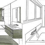 Dessiner une salle de bain