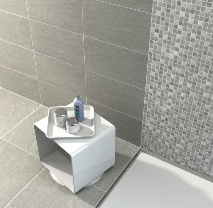 Faience salle de bain bricoman for Faience verte salle de bain
