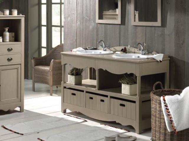 meuble ancien pour salle de bain