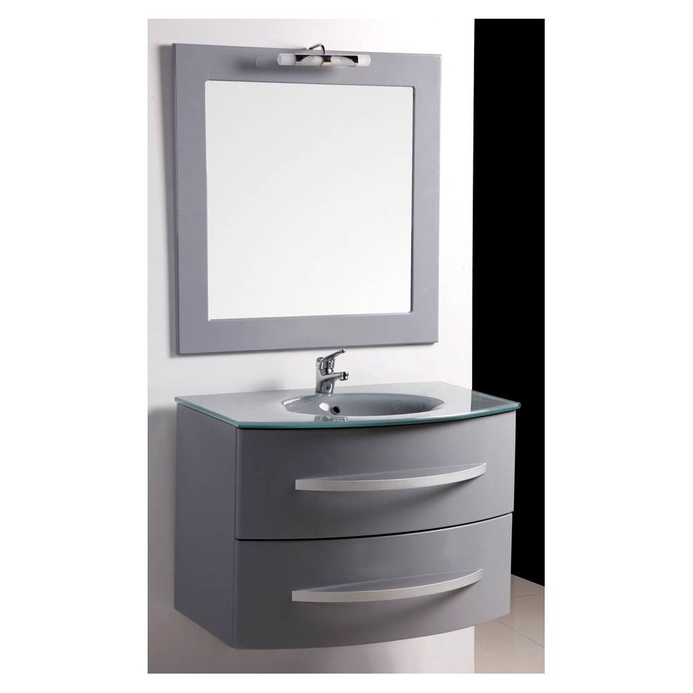 Salon moderne colore for Meuble de salle de bain chez but
