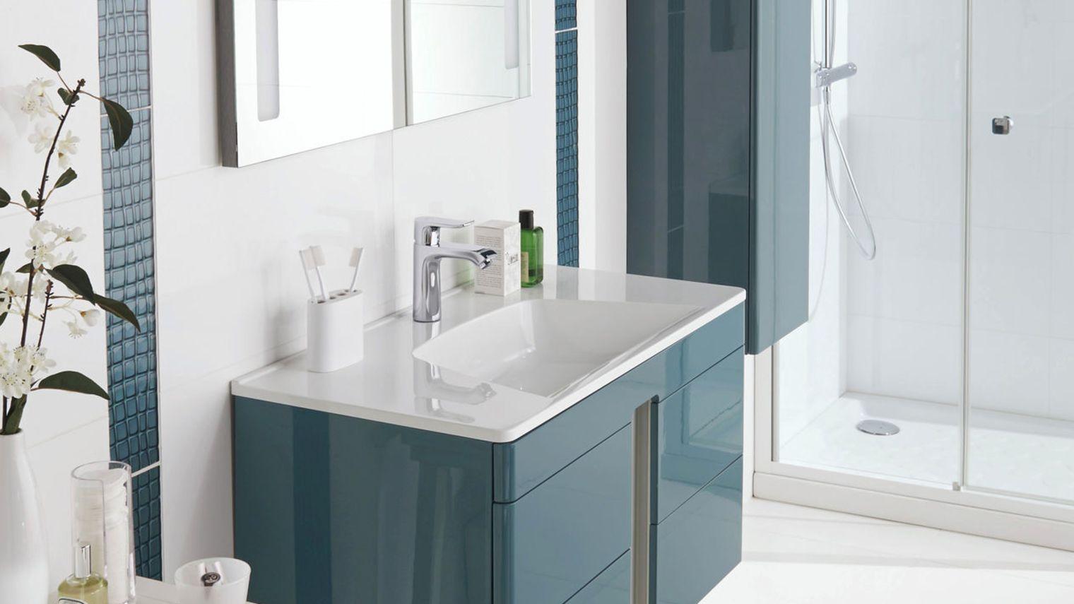 Meuble salle bain lapeyre for Meuble salle de bain online