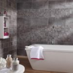 Papier peint salle de bain leroy merlin