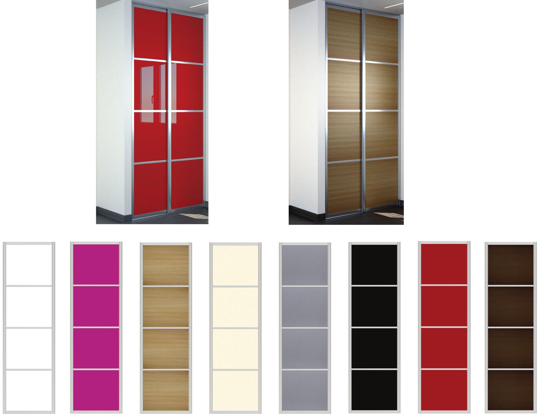 trendy porte de placard coulissante vial with petit meuble de rangement alinea. Black Bedroom Furniture Sets. Home Design Ideas