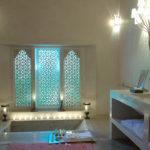 Salle de bain orientale deco