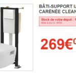 Wc gain de place brico depot